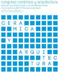 PONENCIA EN EL CONGRESO CERMICA Y ARQUITECTURA