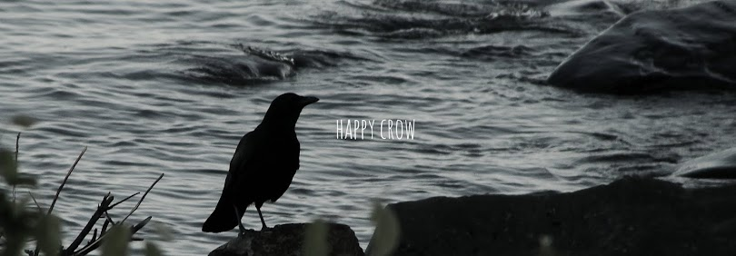 happy crow.