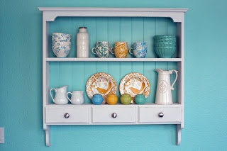 Kitchen Shelf Re-do