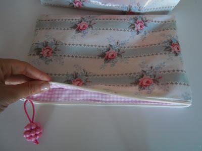 Bolsa em tecido plastificado