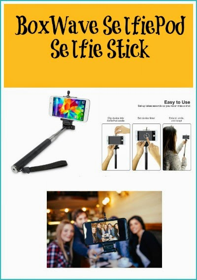 Enter the BoxWave SelfiePod Selfie Stick Giveaway. Ends 3/29