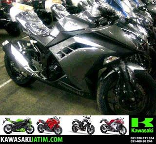 ninja 250 grey