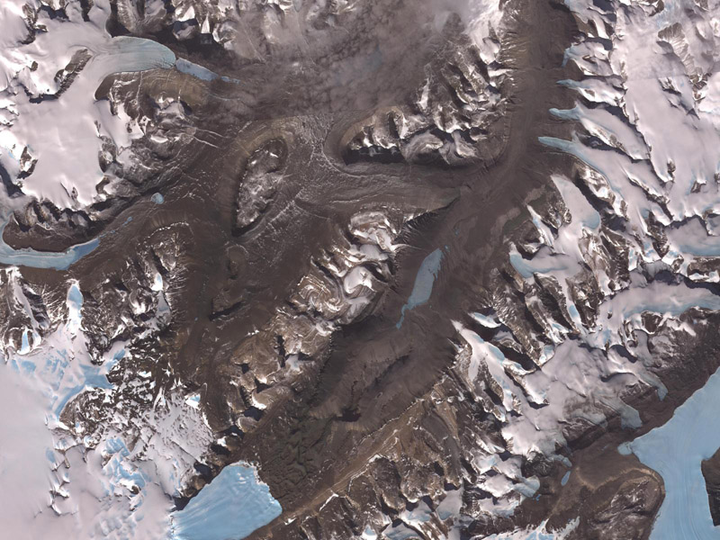Lembah McMurdo di Antartika