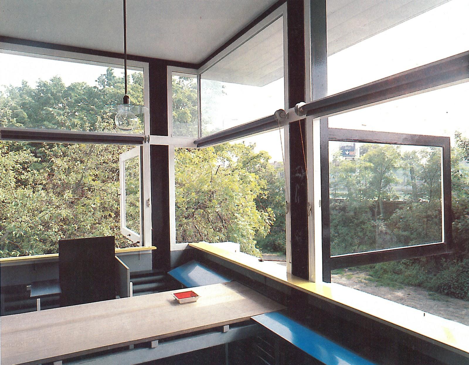 The Rietveld Schroder House Photographs
