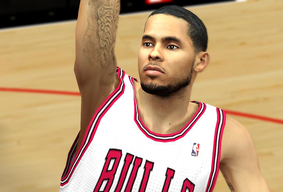 D. J. Augustin Cyberface Patch