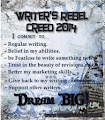 Writers Rebel Creed 2014
