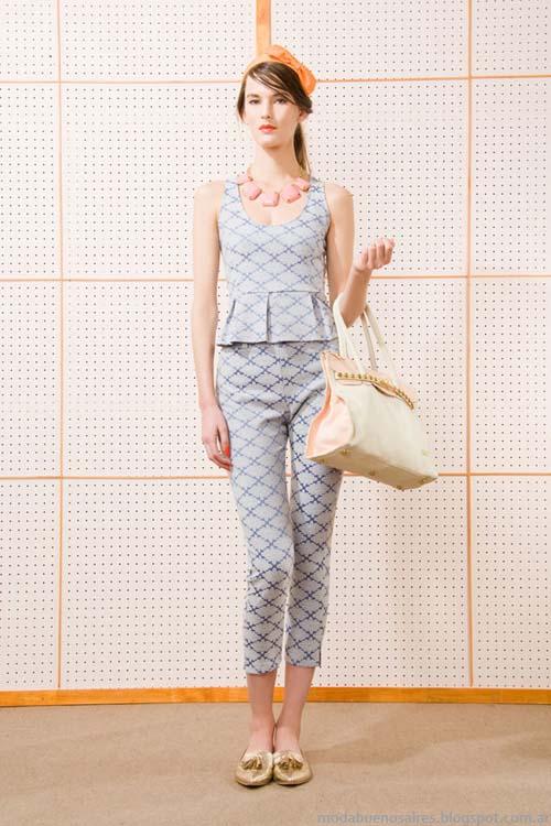 Trajes de mujer marca Las Pepas moda verano 2014.