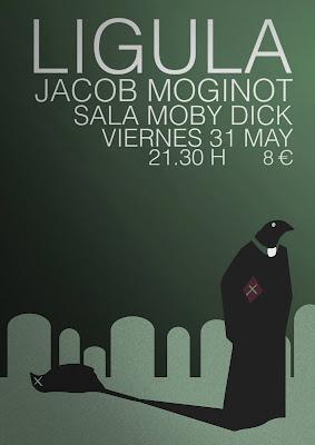 Ligula en concierto Sala Moby Dick MADRID