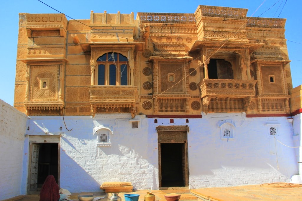 Jaisalmer Fort - Houses