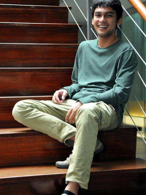 Ridwan Ghani-pacarnya Kinanti