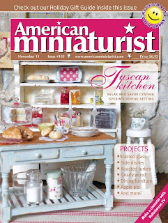 My cover on American Miniaturist