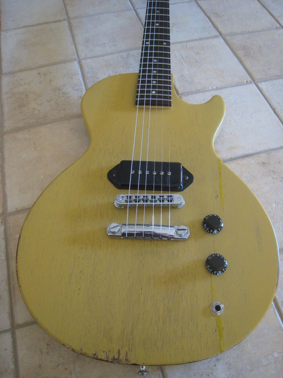 Old Fashioned Les Paul Jr Wiring Diagram Picture Collection ...