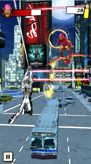 Nuevo juego de Spiderman de Gameloft.