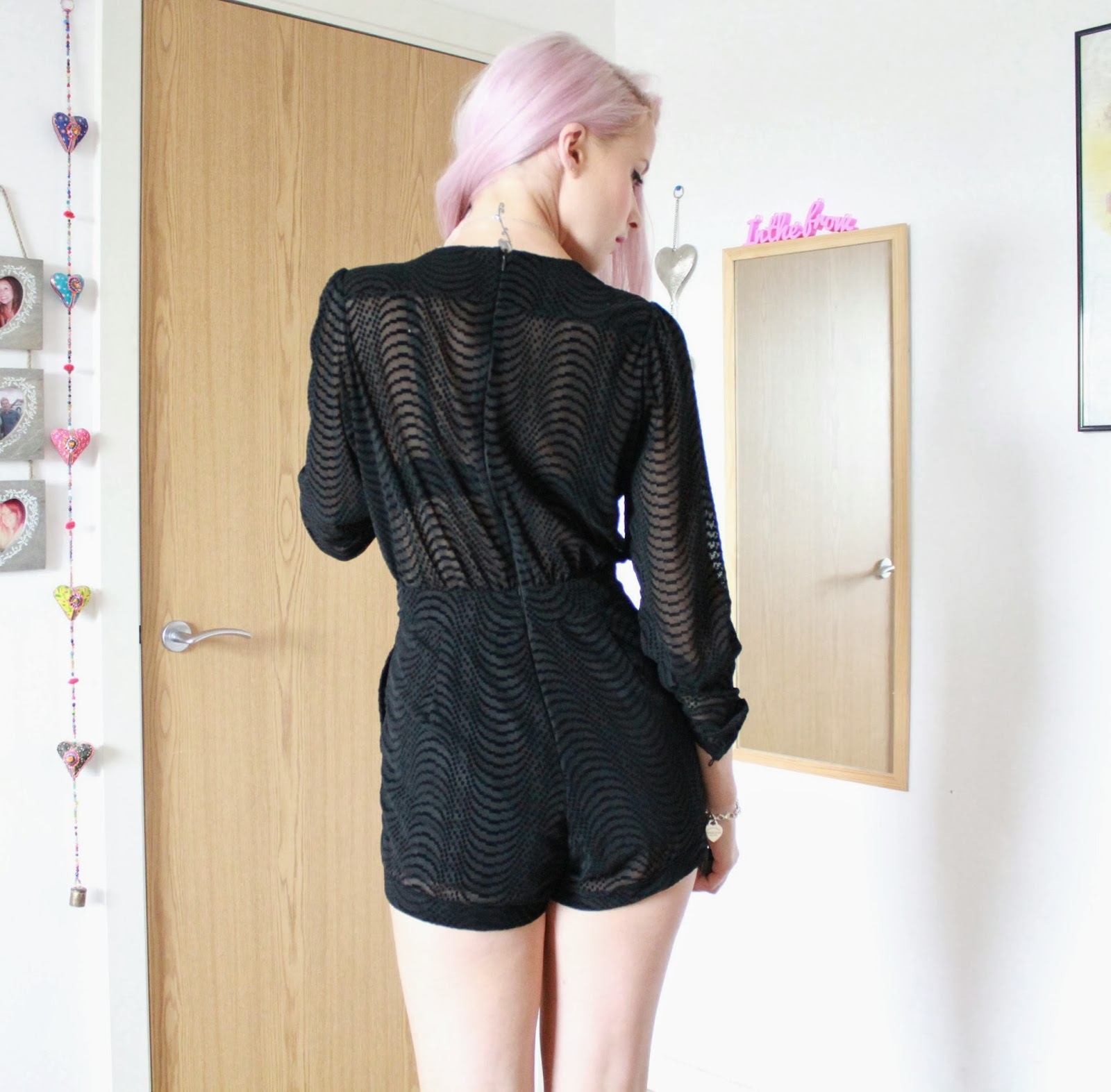 The Little Black Playsuit And Louboutins Ootn Inthefrow