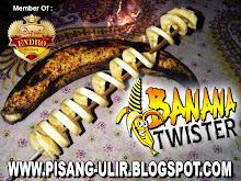 PISANG ULIR - BANANA TWISTER - PISANG GORENG ULIR