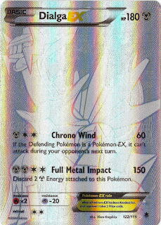 Dialga EX Phantom Forces Pokemon Card