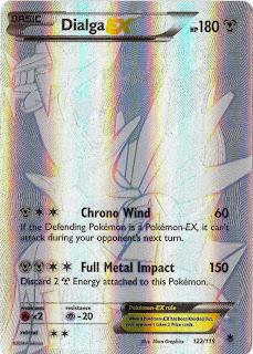 Dialga EX Phantom Forces Pokemon Card