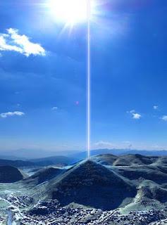Μυστηριώδεις δέσμες ενέργειας πάνω από τη Βοσνιακή Πυραμίδα του Ήλιου (VIDEO)