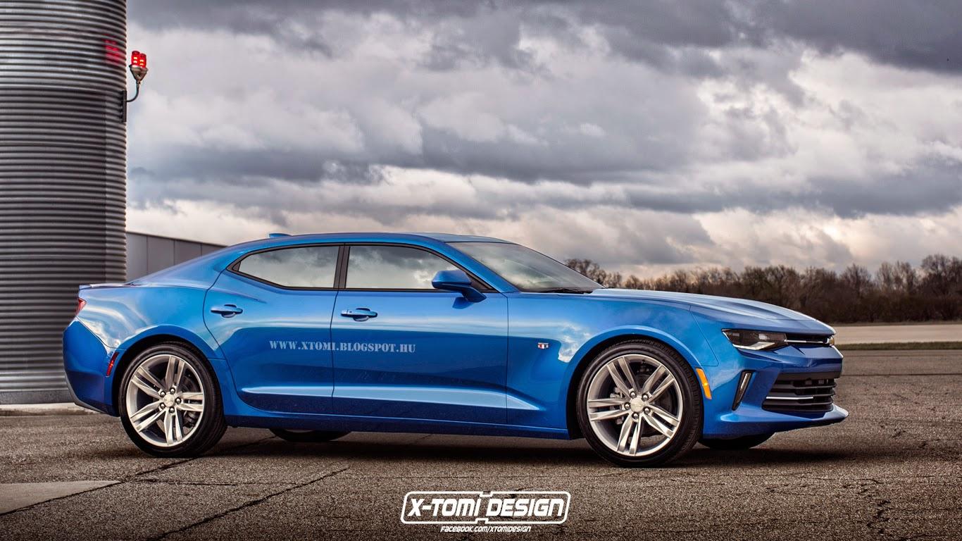 X-Tomi Design: Chevrolet Camaro RS Sedan