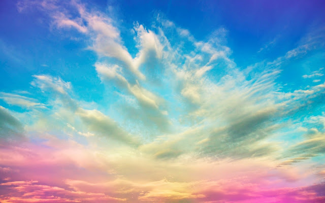 Amazing colorful sky HD wallpaper