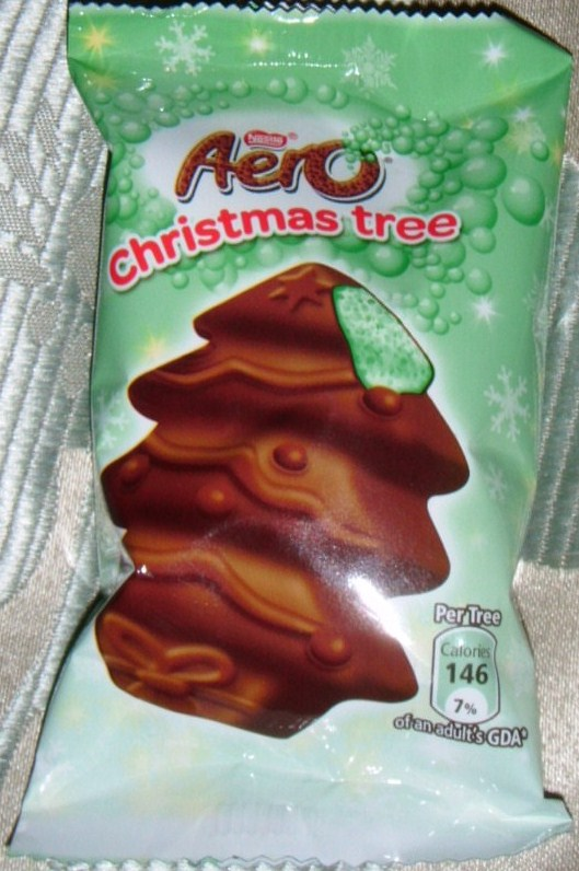 foodstuff finds aero christmas tree mint chocolate. Black Bedroom Furniture Sets. Home Design Ideas