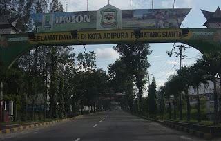 Siantar City - Near Heroes Cemetery