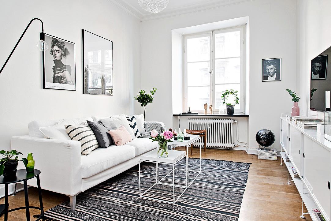 Blog wn trzarski design nowoczesne projekty wn trz - Como decorar un salon en forma de l ...