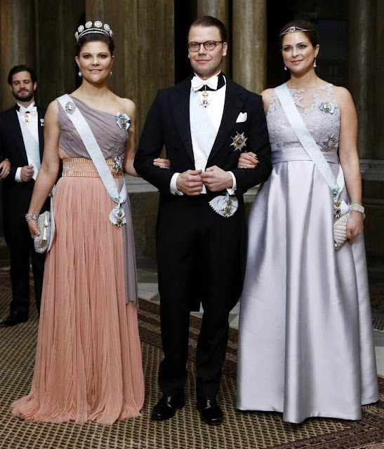 King and Queen, Crown Princess Victoria, Prince Daniel, Prince Carl Philip, Sofia Hellqvist and Princess Madeleine