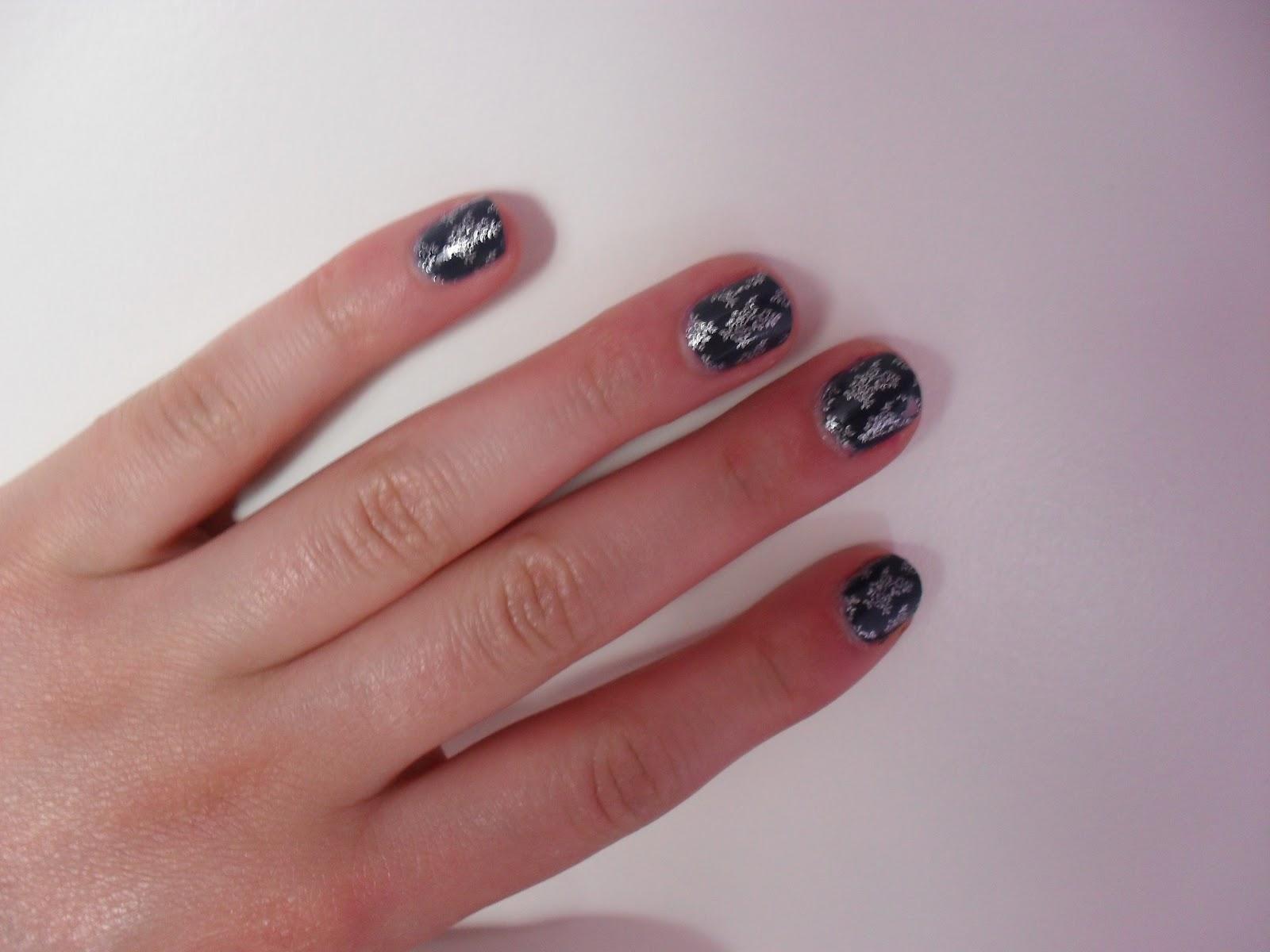 Korte Nagel Nail Art Pliese