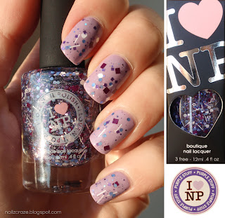 Swatch &amp; Review: ILNP - Purple Stuff