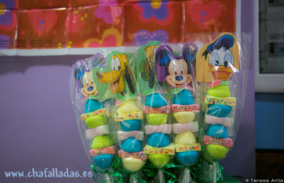 BROCHETAS de chuches