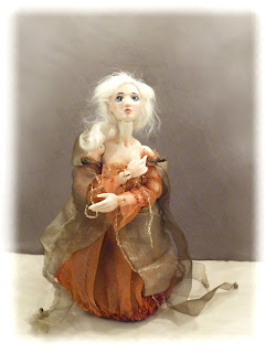porcelain ball jointed doll