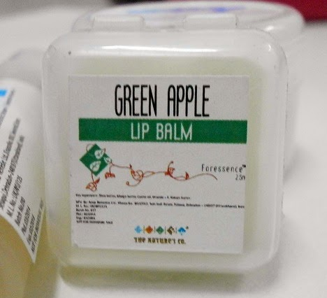 The Nature's Co Green Apple Lip Balm March Beauty wish box