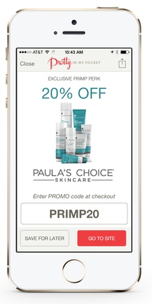 Paula's Choice, Pretty in my Pocket