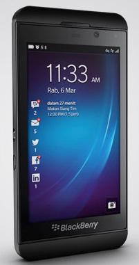 blackberry z10 bb10 layar 4 2 inch harga rp 3 jutaan