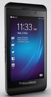 BlackBerry Z10 Ponsel Layar Sentuh 4.2 Inch Harga 3 Jutaan
