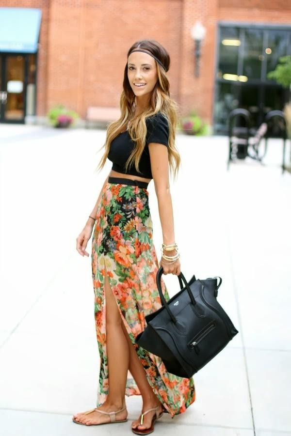 s fashion maxi skirt
