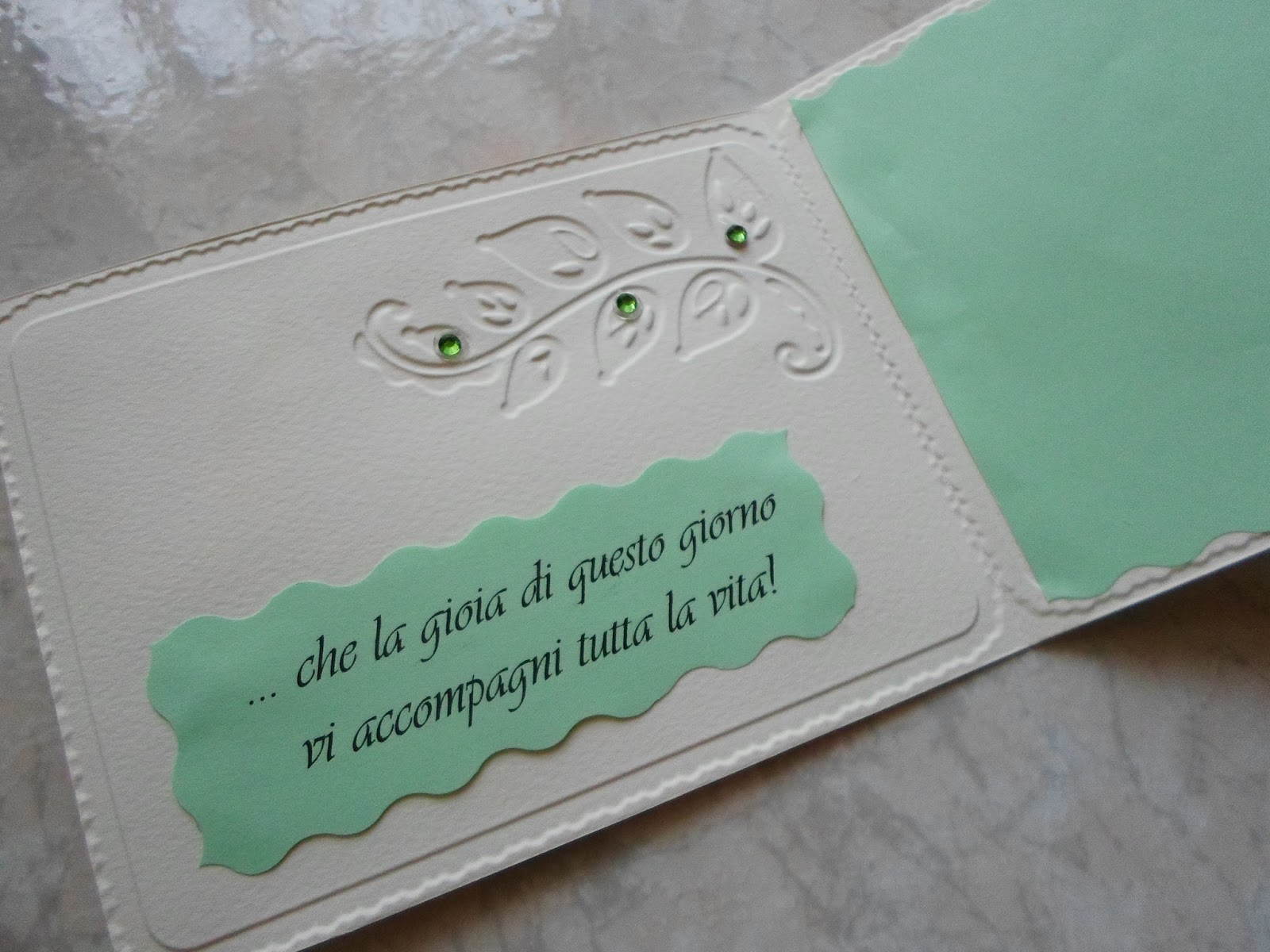Eccezionale ♥preziose raffinatezze♥: Biglietto auguri matrimonio fai da te TK58