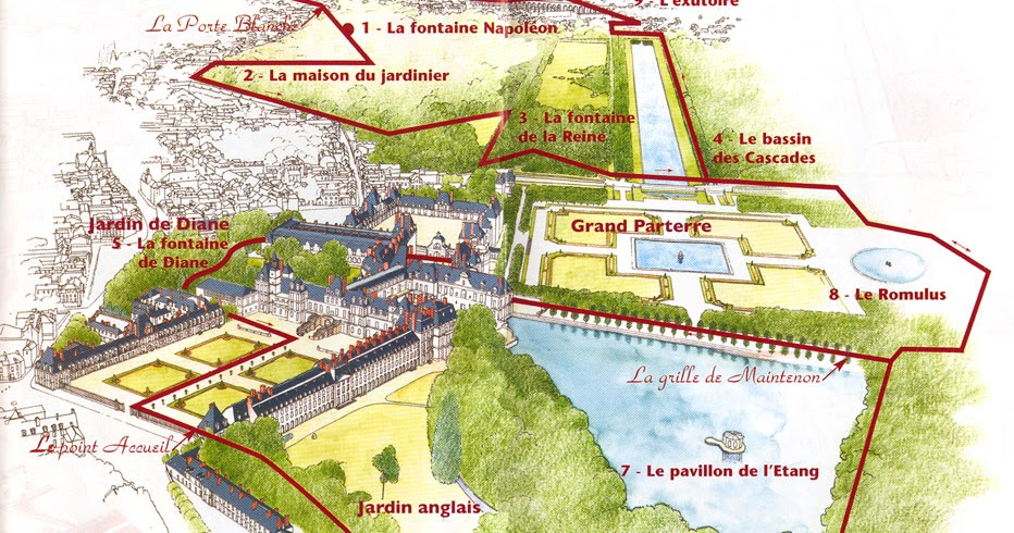 Viaggi vini e cucine fontainebleau palace for Piscine fontainebleau
