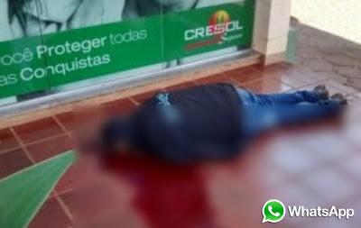 POLICIA MATA BANDIDO DURANTE ROUBO A BANCO EM NOVA PRATA DO IGUAÇU