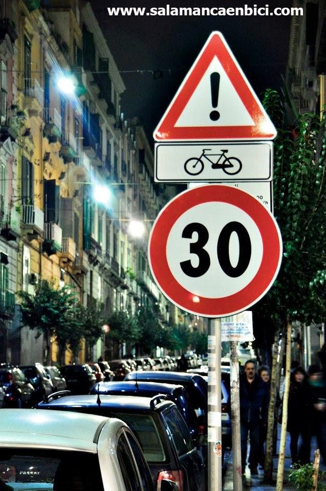 carril bici salamanca área 20 pacificación ciclista