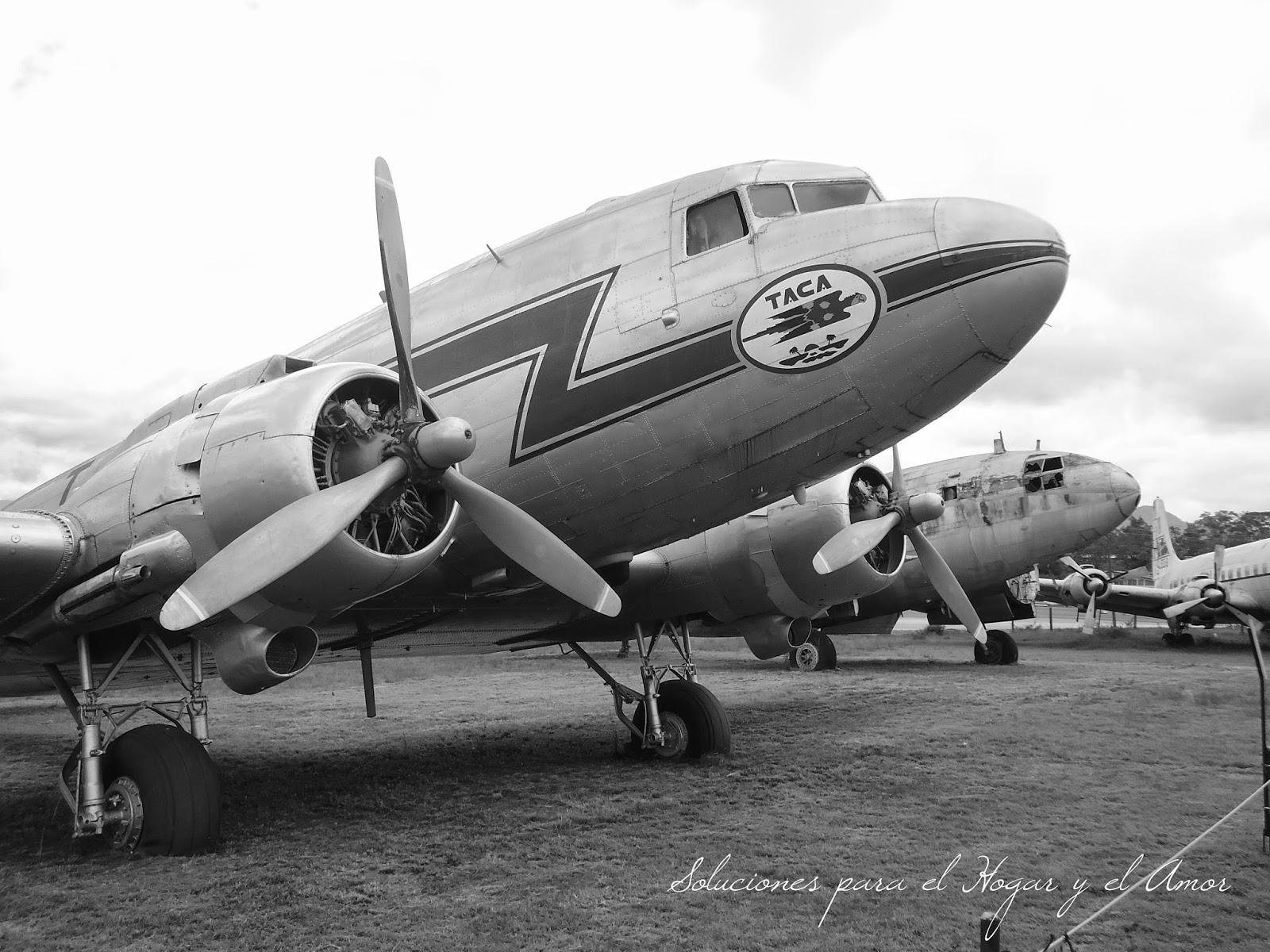 Fotografías del Museo del Aire de Honduras