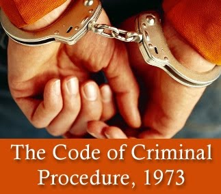 Criminal Procedure Code, 1973 (Act No. 2 OF 1974) India