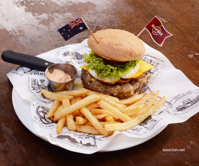 The Aussie Burger - RM56