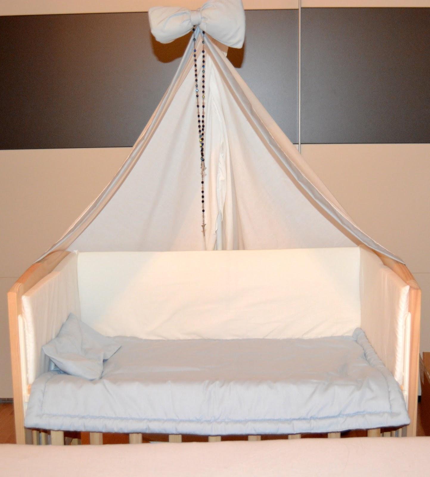 stiny style unser babybett. Black Bedroom Furniture Sets. Home Design Ideas