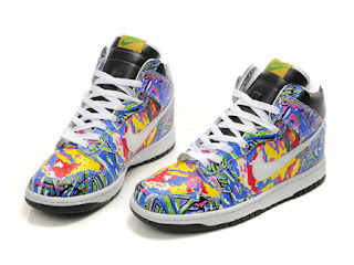 colorful air force ones high top