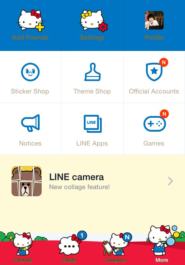 Install Gratis Tema LINE Messenger Terbaru Hello Kitty