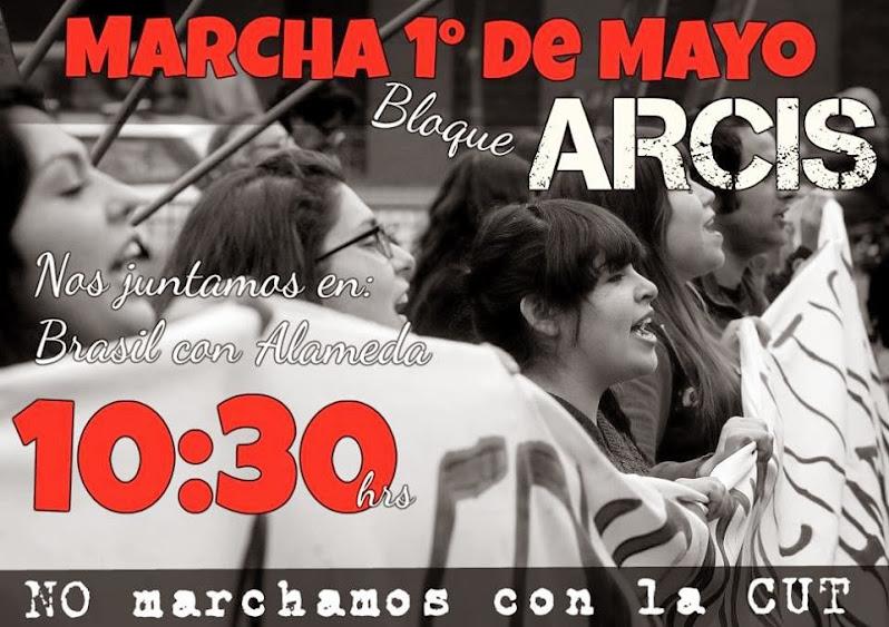 1º DE MAYO MARCHA, NO MARCHEMOS CON LA CUT