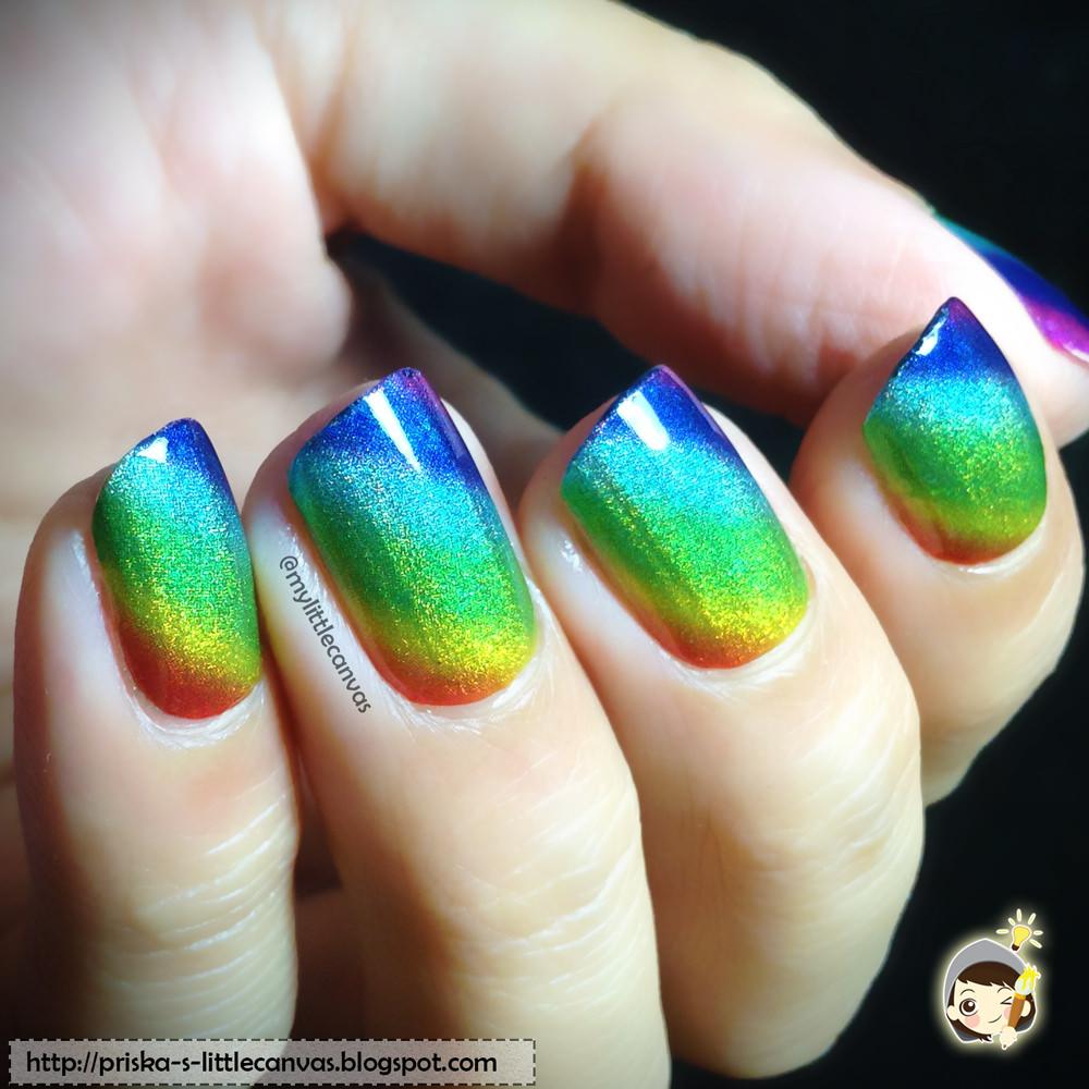 Stunning Holographic Rainbow