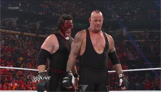 WWE Kane vs Undertaker